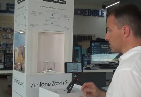 Espositore pubblicitario ZenFone Zoom