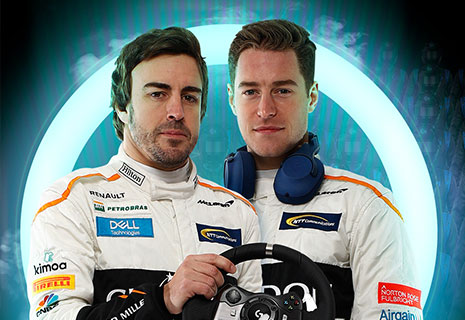 Logitech & MCLaren – Evento in-store Ready to Race