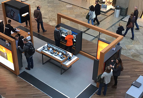 Brand Visibility in Germania con Amazon POP-UP Store